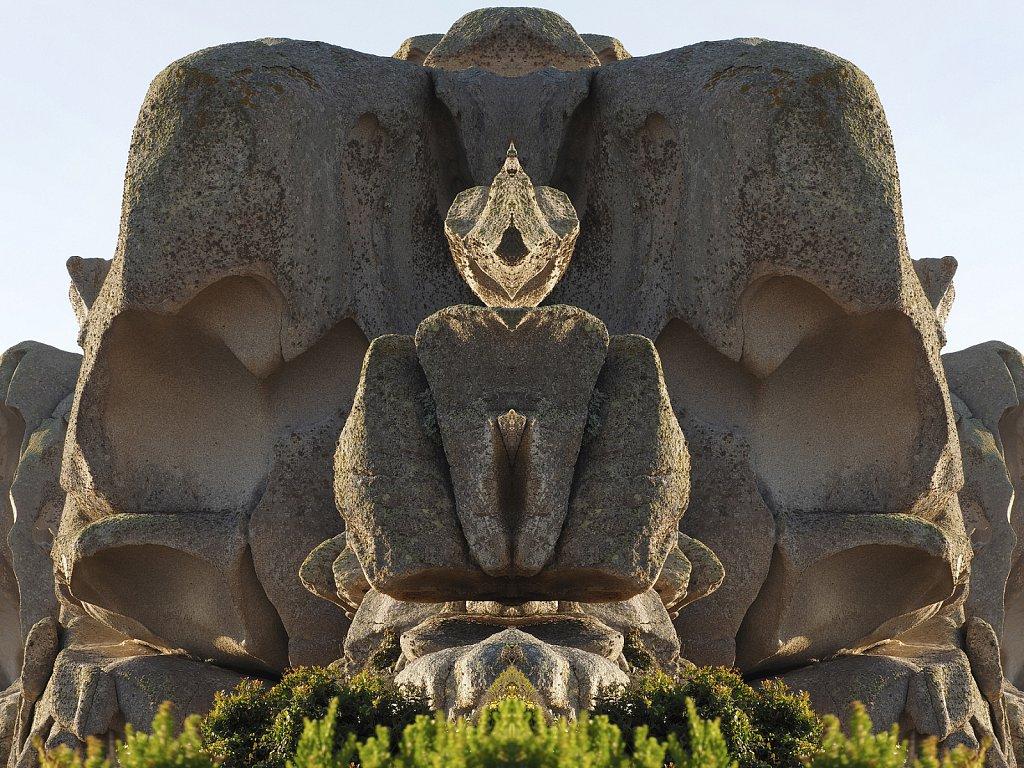 Natur Mandalas und eine Kommunikation aus dem Reich der Naturwesen